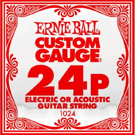 ERNIE Ball 1024P 24  Acoustic Guitar Single String Steel