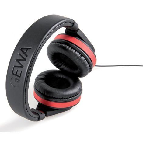 GEWA HP-SIX HEADPHONES RED STRIPE