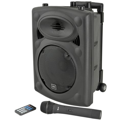 """QTX QRPA 8"""" Portable PA with Bluetooth"""