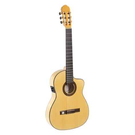 GEWA Konzertgit Electro Acoustic Thin Line Flamenco with Cutaway