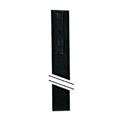 Guitar Shoulders Strap Leather Black 60mm