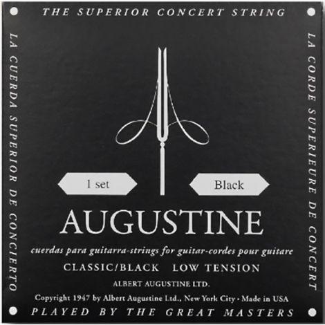 AUGUSTINE STRINGS FOR CLASSIC GUITAR SET BLACK