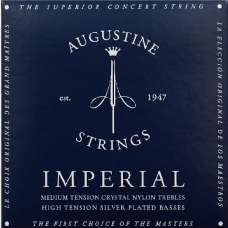 AUGUSTINE STRINGS FOR CLASSIC GUITAR SET BLUE IMPERIAL HIGH