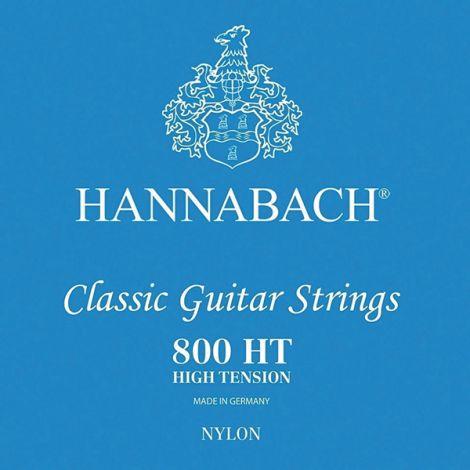 HANNABACH STRINGS FOR CLASSIC GUITAR SET 800HT BLUE NYLON