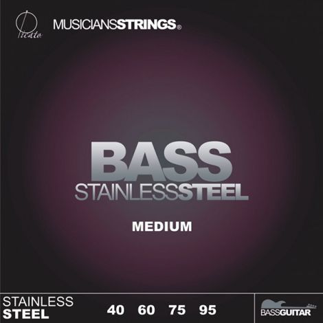 PICATO 766MS 96641 Bass Guitar Strings Stainless Steel