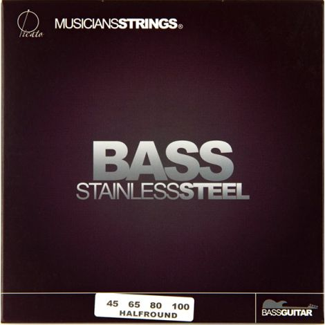 PICATO 96659 45-100 Half Wound Bass Strings Stainless Steel