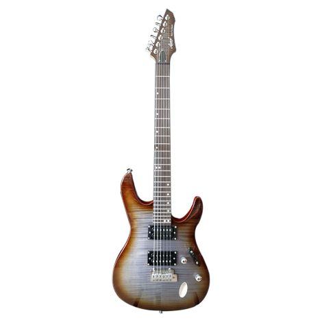 AIERSI Deluxe Maple Slimline Electric Guitar