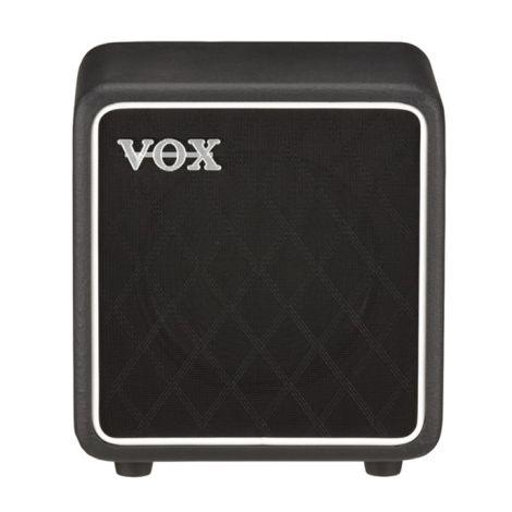 VOX BC108 SPEAKER CABINET BLACK