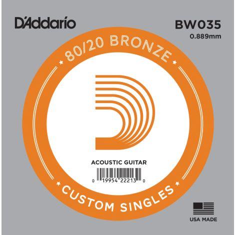 DADDARIO BW035 SINGLE STRING BRONZE WOUND