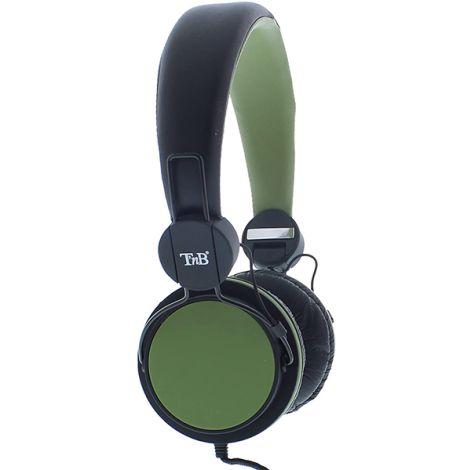 TNB BE COLOR GREEN HEADPHONES