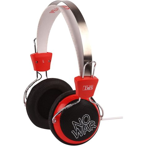 TNB PEACE HEADPHONES. XTREM BASS FOR IPD,IPHONE, MP3,MP4