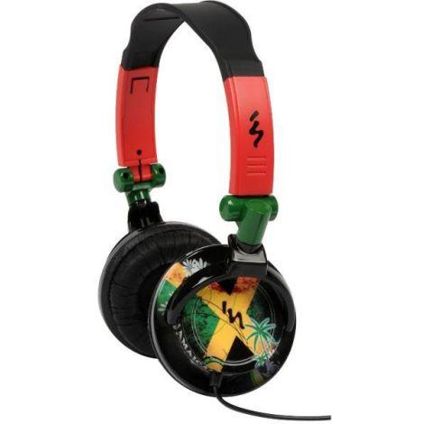 TNB MUSIC TREND REGGAE HEADPHONES XTREM BASS, FOR iPHONE, MP3,MP4