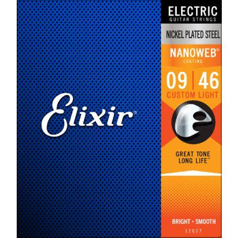 ELIXIR - Electric Nanoweb Nickel Custom Light ( 9-46 )