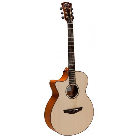 FAITH FVL Natural Venus Acoustic Guitar Elec/Cut Lefthanded