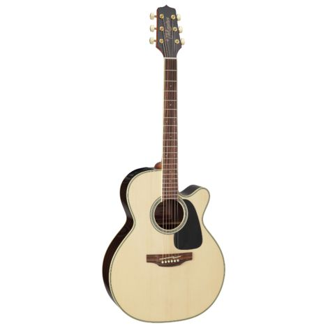 TAKAMINE GN51CENAT SOLID SPRUCE TOP SEMI ACOUSTIC GUITAR GLOSS