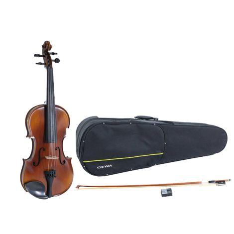 GEWA VL1 Violin 4/4  w/ Setup Shaped Case Massaranduba Bow Alpha Yue