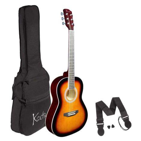 KODA 3/4 SIZE  Acoustic Guitar Pack Sunburst