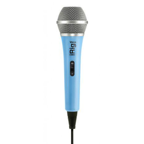 IRIG VOICE Karaoke Microphone Blue