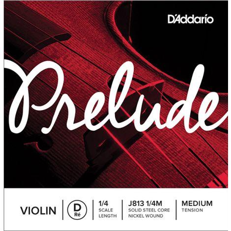 DADDARIO PRELUDE J813 D VIOLIN SINGLE STRING