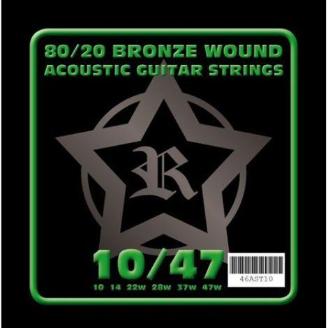 ROSETTI 46AST10 10-47 ACOUSTIC GUITAR STRINGS BRONZE