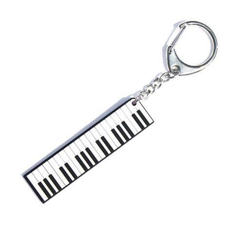 PVC KEY RING PIANO KEYS