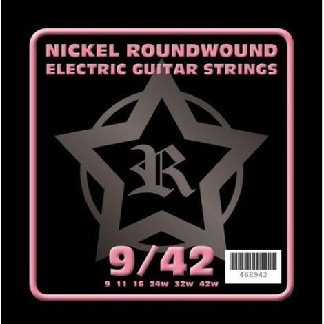 ROSETTI 46E942 9-42 ELECTRIC GUITAR STRINGS NICKEL