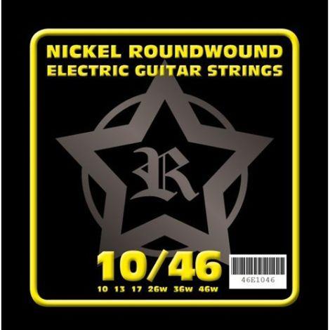 ROSETTI 46E1046 10-46 ELECTRIC GUITAR STRINGS NICKEL