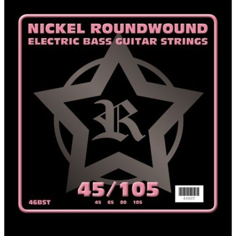 ROSETTI 46BST45105 45-105 ELECTRIC BASS GUITAR STRINGS NICKEL ROUNDWOUND