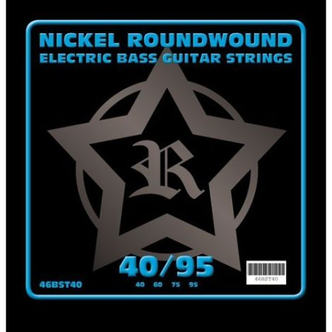 ROSETTI 46BST40 40-95 ELECTRIC BASS GUITAR STRINGS NICKEL WOUND