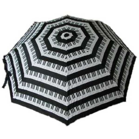 UMBRELLA LARGE KEYBORD BLACK & WHITE
