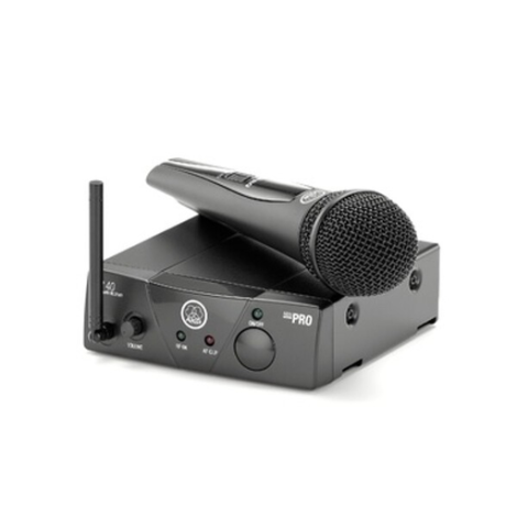 AKG WMS 40 PRO MINI VOCAL RADIO MIC SYSTEM