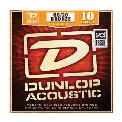 DUNLOP DAB1048 10-48  Bronze Acoustic Guitar Strings