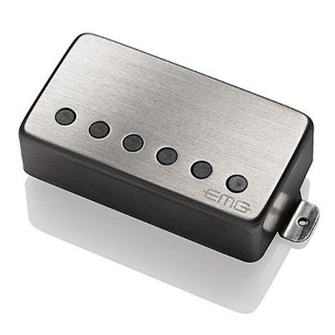 EMG 57B ACTIVE HUMBUCKER BRUSHED CHROME