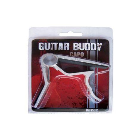 GUITAR BUDDY GBC02S GUITAR CAPO silver