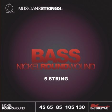 PICATO 93045 045 BASS GUITAR STRINGS NICKEL