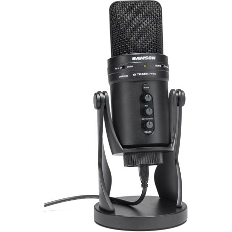 SAMSON G TRACK PRO USB MIC WITH INTERFACE