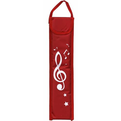 MUSICWEAR Recorder Bag Red