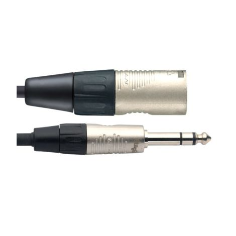 6M/20F Audio CBL XLRM-ST PL DL