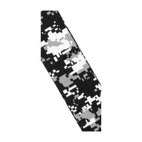DADDARIO Digital Camo Guitar Strap Black