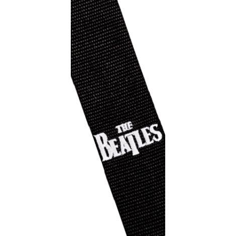 """D'ADDARIO 2"""" Beatles Polypro Black Strap"""