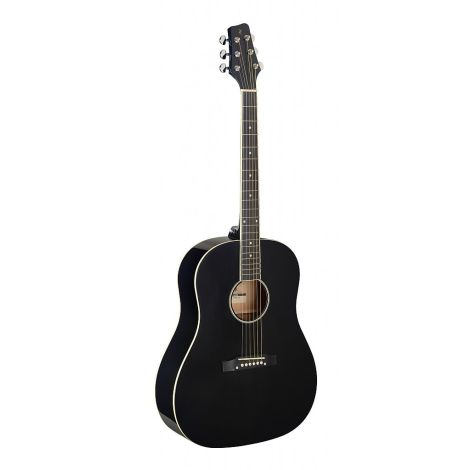 STAGG ACOUSTIC GT SLOPE BK LEFT HANDED