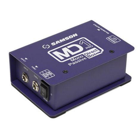 SAMSON S-Max MD1Pro - Mono Passive Direct Box