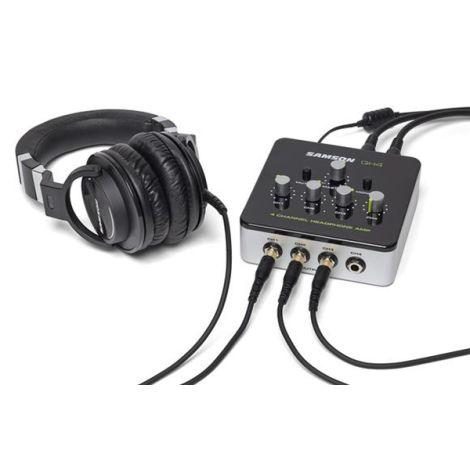 SAMSON QH4 4 Channel Headphone Amplifier