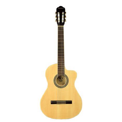 MUSIC MINDS Classical Guitar Natural Cutaway