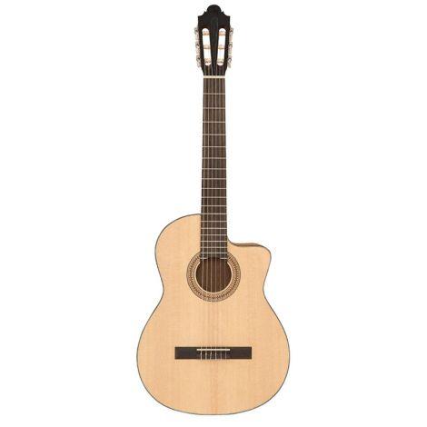 Santos Martinez SM250CE Estudio Electro Cutaway Classical Guitar