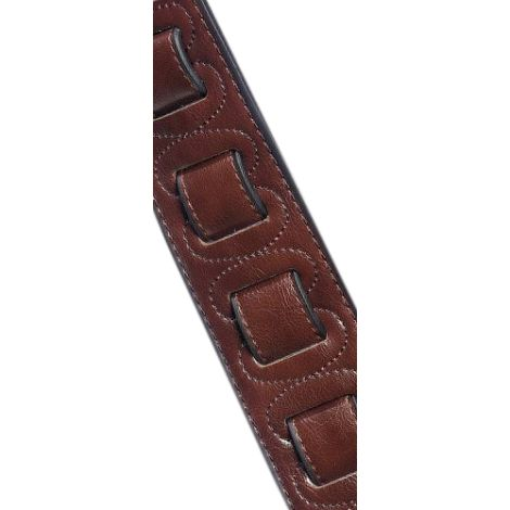 STAGG Padded Leather Strap Brown