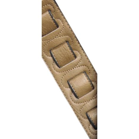 STAGG Padded Leather Strap Copper