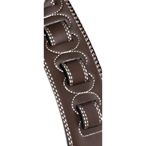 STAGG Padded Leather Extra Large Dark Brown