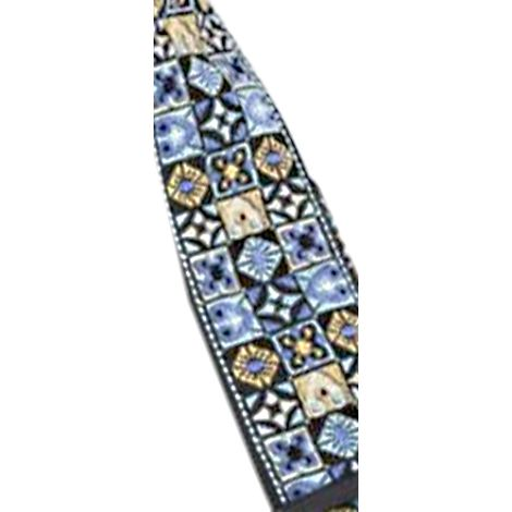 STAGG Woven  Strap GT Hoote  Mix Blue