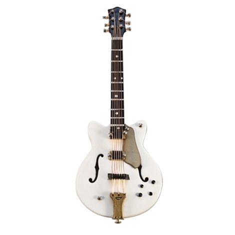 Vienna World VWT0758 E-Guitar White/Gold Magnetic